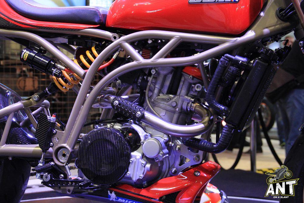 CCM Foggy Spitfire Engine