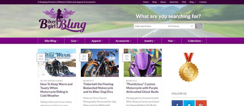 BikerGirlBling Motorcycle Blog