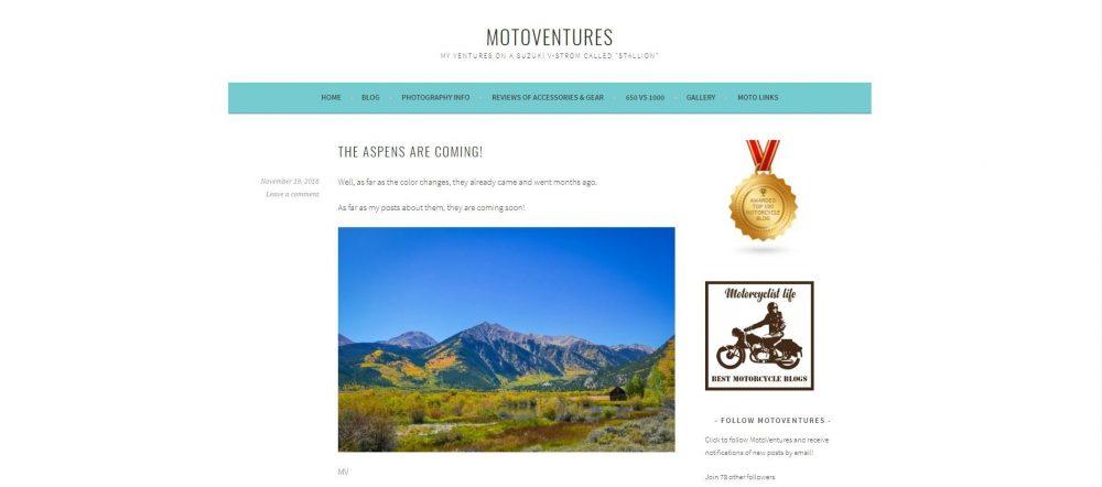 MotoVentures Motorcycle Blog