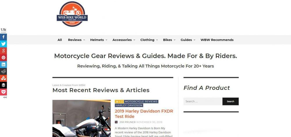 Web Bike World Motorcycle Blog