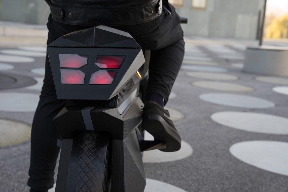 NERA 3d Printed Motorcycle Brake Light