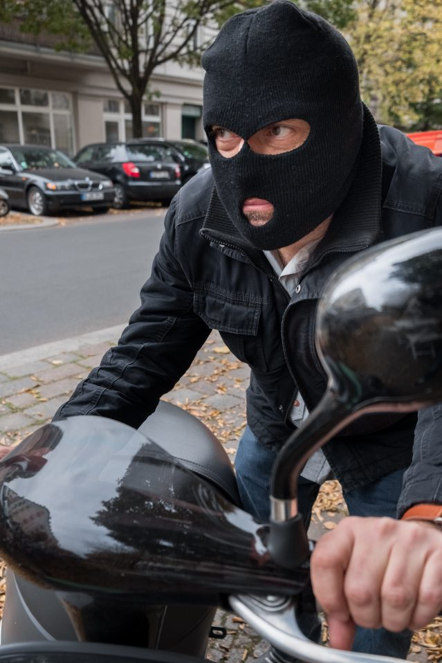 UK motorcycle theft 2019 stats